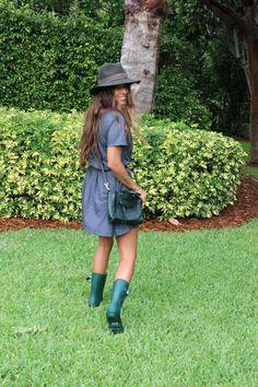 Rainy Day Outfit | VeryAllegra