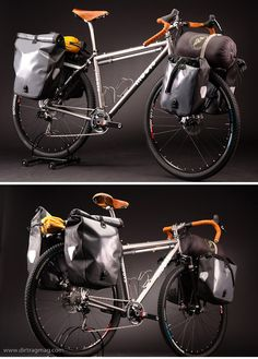 Moots Expedition Touring Bike