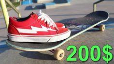 200 DOLLAR SKATE SHOES – Luis Mora: Source: luismoravids
