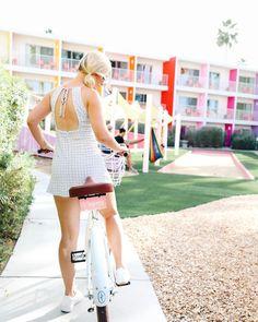 Alisha riding a bike!!