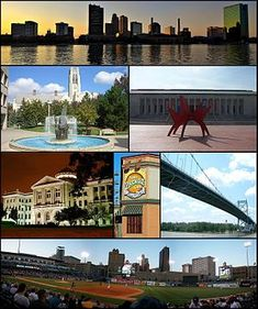 Images, from top left to right: Downtown Toledo, University Hall, Toledo Museum of Art, Lucas County Courthouse, Tony Packo's Cafe, Anthony Wayne Bridge, Fifth Third Field Ohio