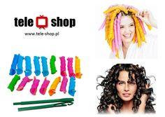 http://tele-shop.pl/ MAGICZNE PAPILOTY. Magiczne spirale to rewolucyjny sposób, łatwy, do samodzielnego układania włosów. Można w nich spać - są miękkie.