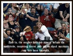 I've heard that baseball is a religion for some people…