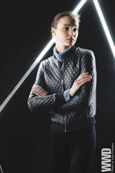 Fall 2014 Trend: Light Shift Mackage's lambskin jacket; Kinross' cashmere turtleneck