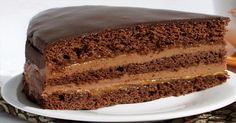 Připravte si podle našeho receptu famózní, krémový dort s karamelovou náplní a kávovou polevou. Dort je úžasně vláčný a bohatá chuť karamelu, společně s čokoládou je naprosto neodolatelná. Velké plus tkví v tom, že příprava dortu není vůbec složitá. Na téhle dobrotě si pochutná každý! Ingredience Těsto – 1 hrnek mouky – 2 vejce –