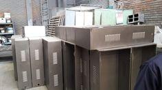 Fabricación locker para almacenar tablets y computadores