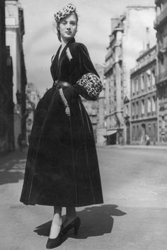 We take a look back at the always fashionable Paris street style scene—from the 1940s through the 1980s. Click through to see all of the stunning photographs.