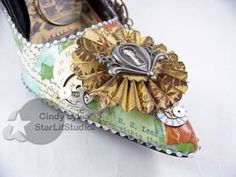 Altered shoe 7
