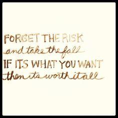 #forget #risk