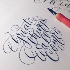 Lettering craft 5 We make, that's what letterers... • typostrate