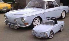 VW Notchback and kid notchback
