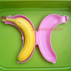 Banana Box Container Case Tupperware Food Storage Gift - i have one and it lights up my life