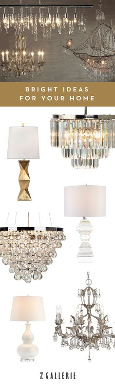 Layer lighting in your home for a designer, polished look. Explore our latest chandeliers, table lamps, and floor lamps now.