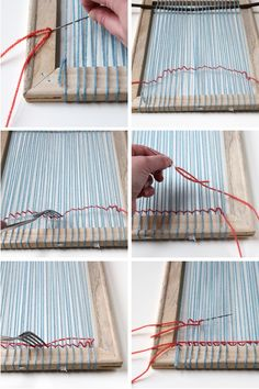 Make your own Diy Woven Wall Hanging.