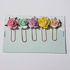 Check out this item in my Etsy shop https://www.etsy.com/uk/listing/279459422/pretty-rose-planner-paperclips-set-of-5