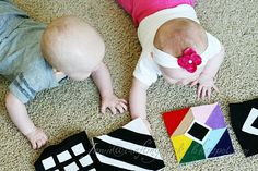 Felt Squares for Baby