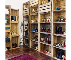 #pallets #closet #reuse