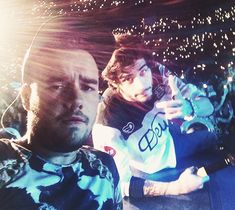 ziam selfies on a fans phone