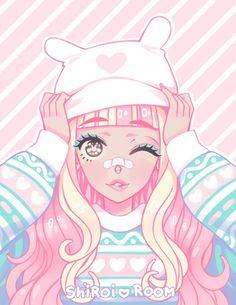 Resultado de imagen para pastel goth anime boy