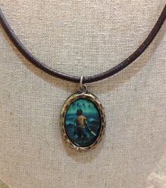 Percy Jackson and the Lightning Thief Pendant by GreyBird4 on Etsy $12.00---- AWESOME!