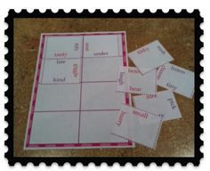 synonym puzzle squares