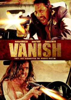 """Danny Trejo and Tony Todd both appear in this bloody kidnapping gone wrong film """"Vanish"""". Watch the trailer and get the details here. http://horrorcabin.com/soon-will-time-vanish"""