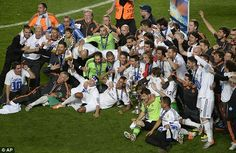 Real Madrid 4-1 Atletico Madrid (AET) - Champions League final 2013/14
