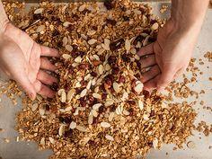 9 Greatest Granola Recipes: From Basic to Paleo-Friendly - Chowhound Fruit Recipes, New Recipes, Cooking Recipes, Favorite Recipes, Brunch Recipes, Vegan Recipes, Dessert Recipes, Breakfast, Bon Appetit