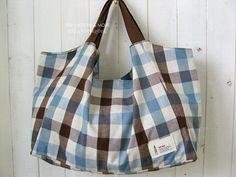 no 027 The Valentina Bag PDF Pattern @Christine Huskey  for the big girls!