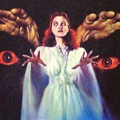 Arte Horror, Horror Art, Horror Films, Retro Art, Vintage Art, Vintage Movies, Art Inspo, Art Pulp, Arte Obscura