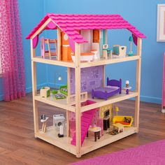 So Chic Dollhouse with Furniture