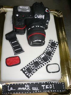 Canon cake by Tuffli www.tuffli.ro