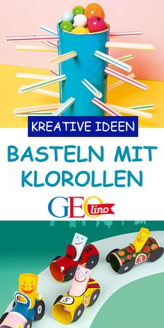 We provide lots of nice ideas for crafting with toilet rolls on GEOLINO. with children lesson basteln basteln deko basteln frühling basteln kinder Crafts For Boys, Diy For Kids, Diy And Crafts, Dream Catcher Craft, Weekend Crafts, Toilet Paper Roll, Upcycled Crafts, Old Paper, Valentines Diy