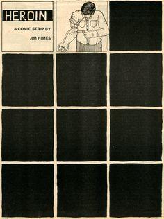 Heroin, a comic strip by Jim Himes