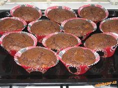 Superrychlé kakaové mufiny s kousky čokolády dobrota ke kafíčku 【ツ】 Super i jako bábovka 【ツ】.