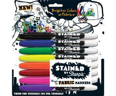 so excited - sharpie fabric pens and great reviews. sneakers. canvas bags. pillow cases. all DIY funtimes for holidays ahead!