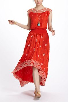 Nanette Asymmetric Dress #anthropologie