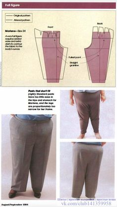 Adjusting women s pants with this on the body fitting method for the back crotch seam – ArtofitThe best DIY projects & DIY ideas and tutorials: sewing, paper craft, DIY.Image gallery – Page 638807528369214978 – Artofit Sewing Jeans, Sewing Clothes, Techniques Couture, Sewing Techniques, Sewing Hacks, Sewing Tutorials, Formation Couture, Clothing Patterns, Sewing Patterns