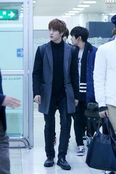 150123- BTS Jin (Kim Seokjin) @ Gimpo Airport #bts #bangtan #bangtanboys…