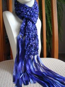 1000+ ideas about Ribbon Yarn on Pinterest Yarn Necklace ...