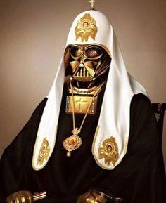 Russian Orthodox Vader #yourargumentisinvalid #darthvader #starwars #sundayfunnies #mashup  #thankyouinternet