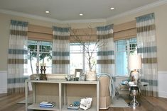 Window Panels On Short Rods Design Ideas, Pictures, Remodel, and Decor - page 26