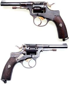 SWEDISH Model 1887 Nagant revolver.  Cal 7,5 Nagant