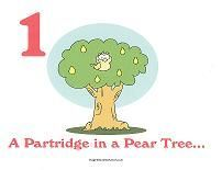 """Wall Cards and Coloring Pages to Teach """"The 12 Days of Christmas"""" Song to your Preschool/Kindergarden Class!"""