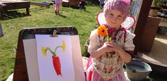 Little Earth Montessori - Getting a flower to bloom