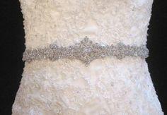bridal belt by lillie