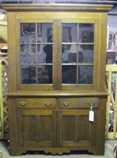 A Walnut Cupboard A 'Free Swinger' and a Folding Game Table! Table Games, Cupboard, Keys, Doors, Glass, Home Decor, Board Games, Clothes Stand, Armoire