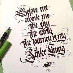 Calligraphy by Xelo Garrigós Pina - Поиск в Google