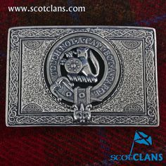 MacIntosh Clan Crest Kilt Buckle