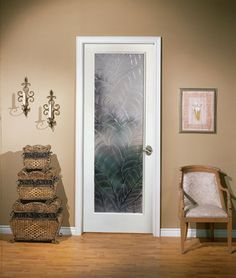 Rainy Day Decorative Interior Glass Door HomeStory French